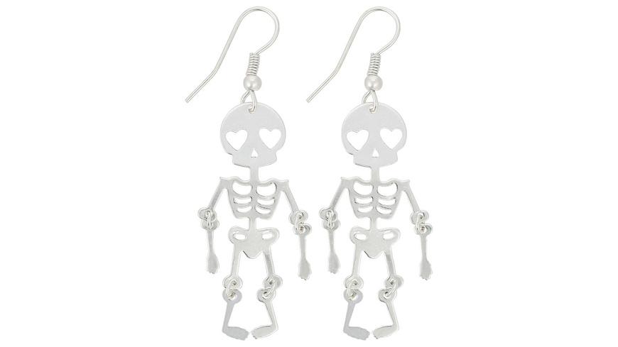 Ohrhänger - Scary Silver
