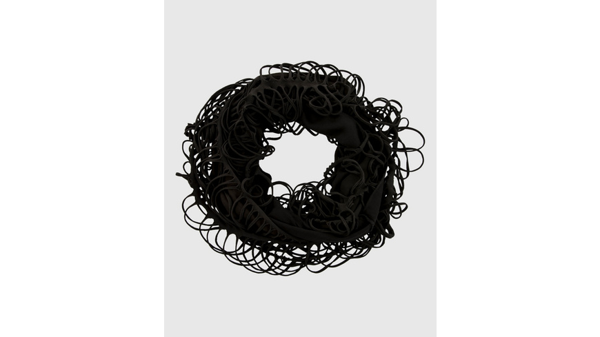 Cool dyed Loop in Schwarz