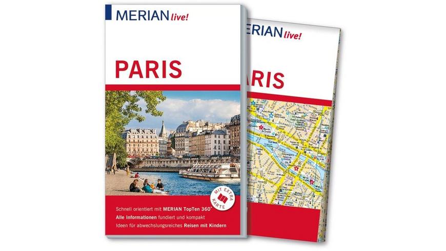 MERIAN live! Reiseführer Paris