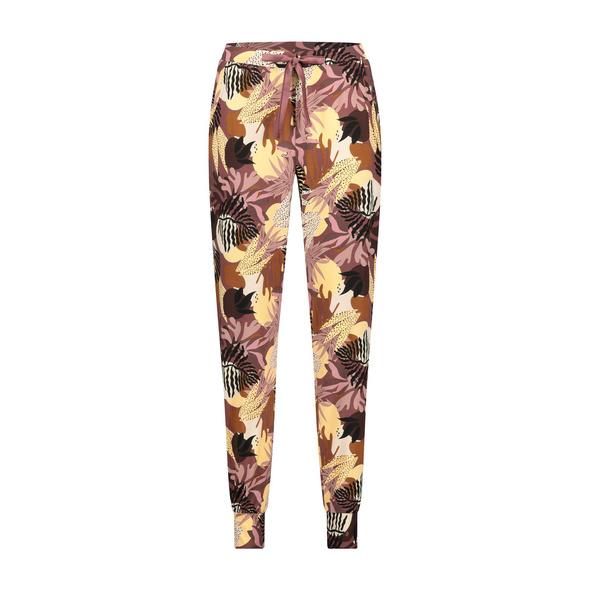 Hunkemöller Pyjamahose aus Jersey Abstract Leaf