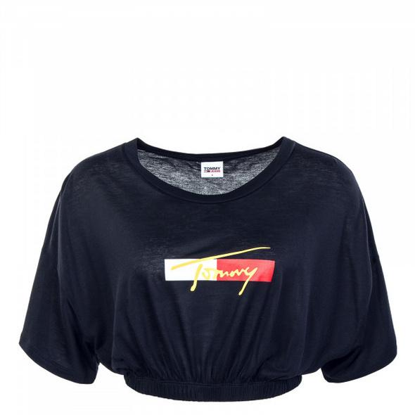 Damen T-Shirt - Cropped -  Desert Sky