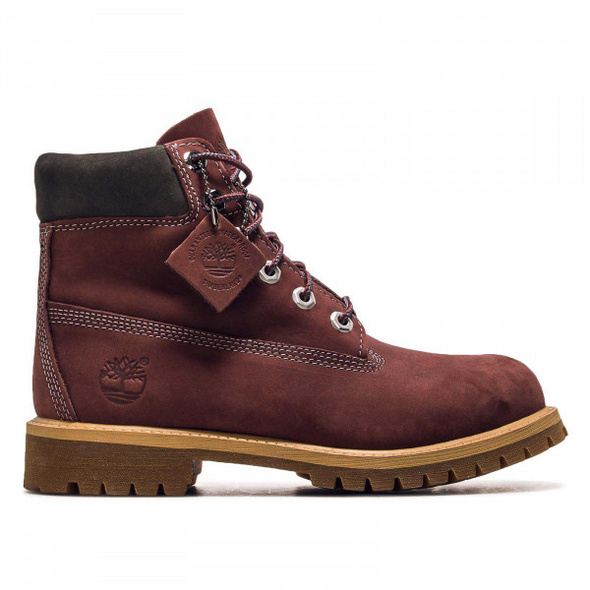 Timberland Wmn Boot 6IN PREM Bordeaux