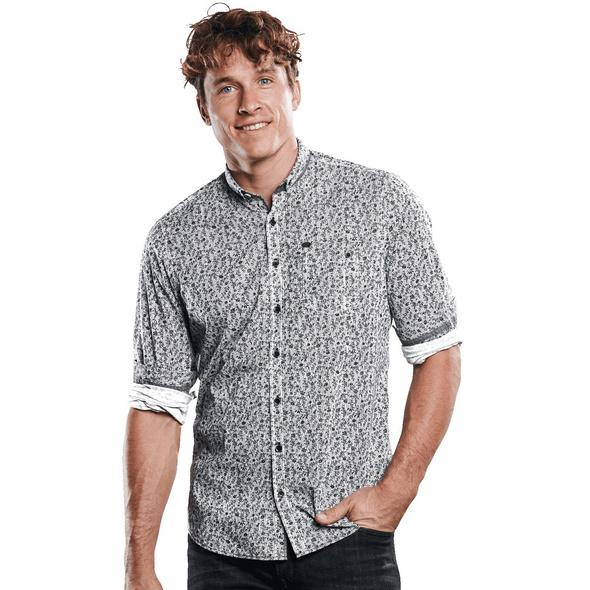 Elastisches Langarmhemd