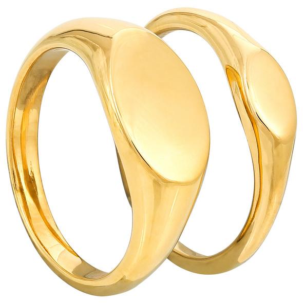 Ring-Set - Clean Gold