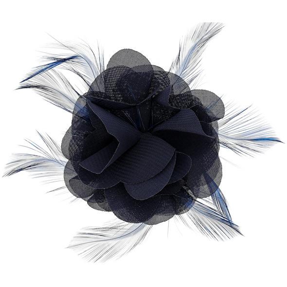 Haarklammer - Gloomy Blue
