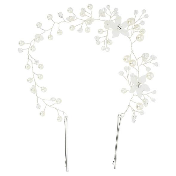 Haarnadel - Crystal Flower Bow