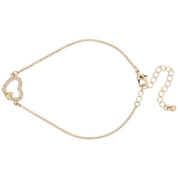 Armband mit Anhänger - Heart Pendant