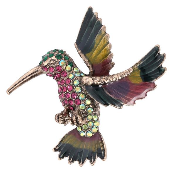 Brosche - Bright Bird