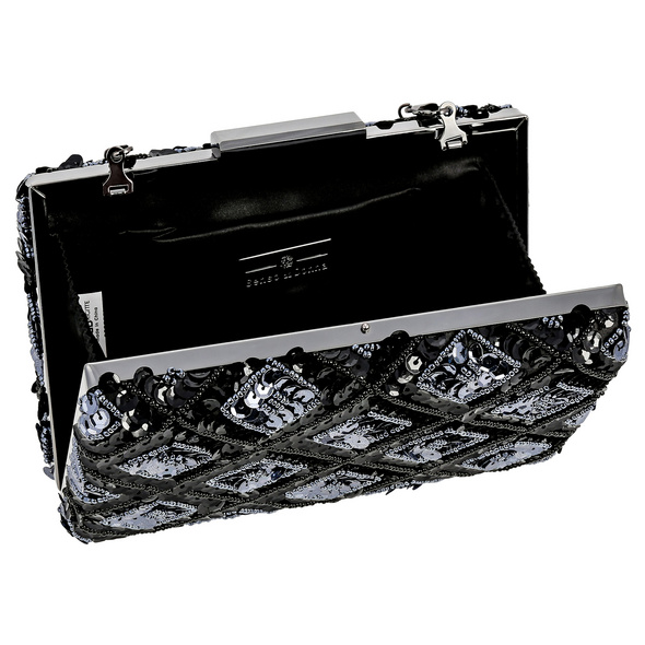 Clutch Box - Grey Diamond