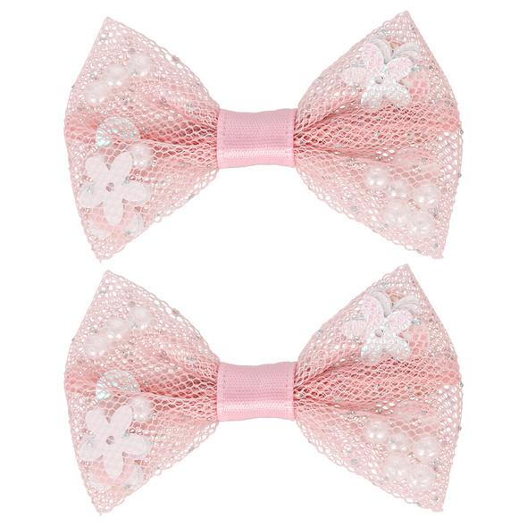 Haarklammer - Pink Sequin