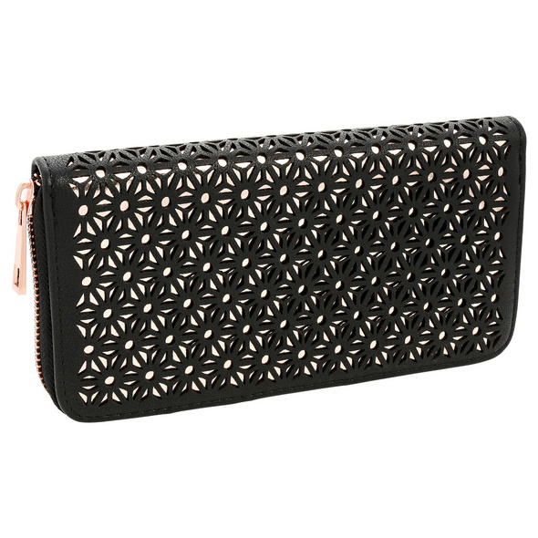 Portemonnaie - Floral Black