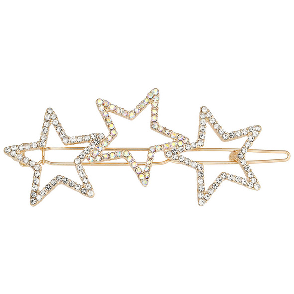 Haarspange - Funky Stars