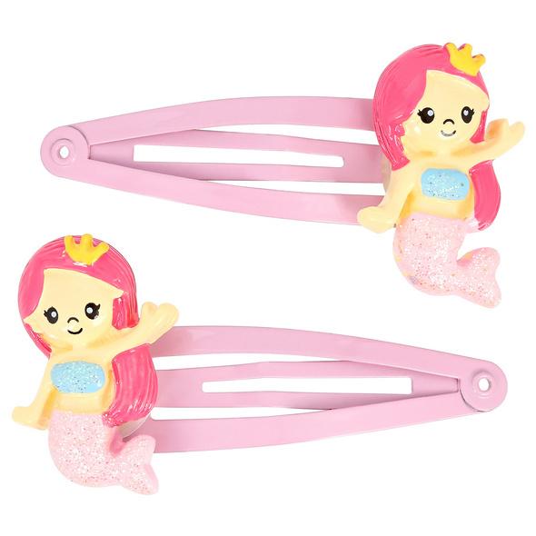 Haarspangen-Set -  Pink Mermaids