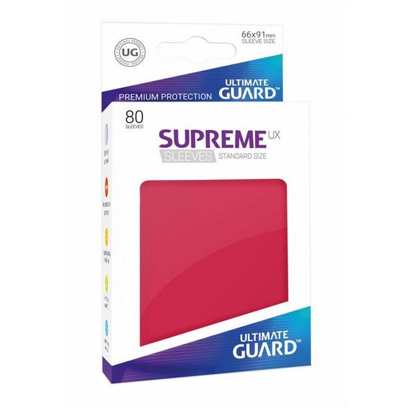 Ultimate Guard: Supreme UX Sleeves Standardgröße Rot