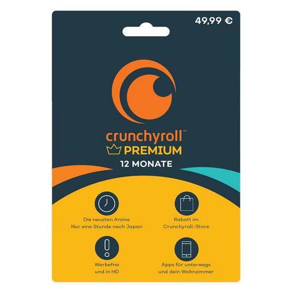 Crunchyroll - 12 Monate [Code-DE]