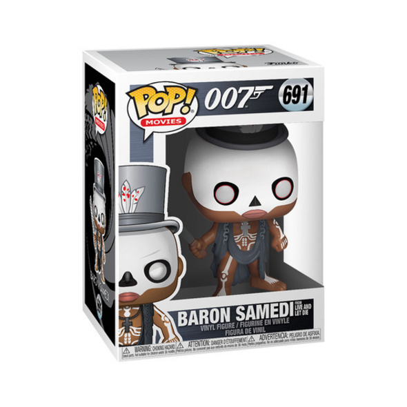 James Bond - POP!- Vinyl Figur Baron Samedi