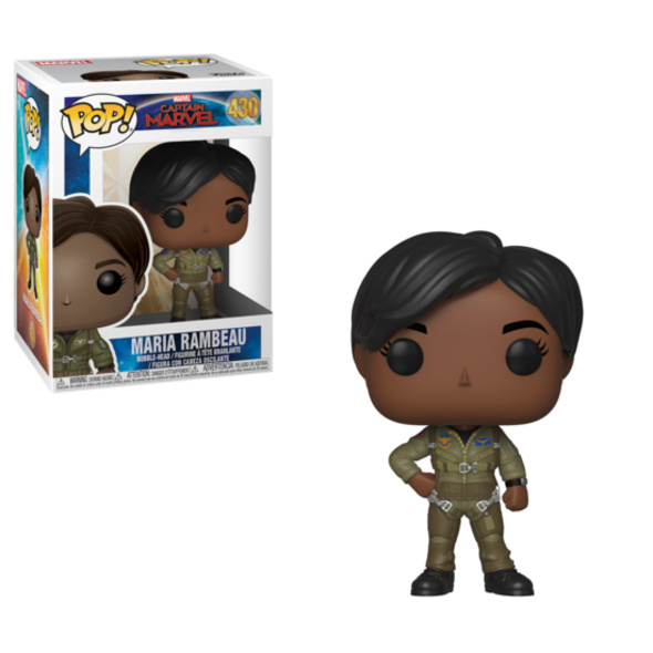 Captain Marvel - POP!-Vinyl Figur Maria Rambeau