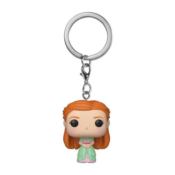 Harry Potter - Pocket POP! Schlüsselanhänger Weihnachtsball Ginny