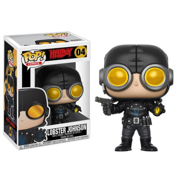 Hellboy - POP!-Vinyl Figur Lobster Johnson