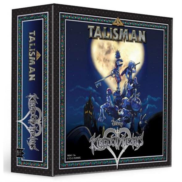 Kingdom Hearts - Brettspiel Talisman (Englische Version)