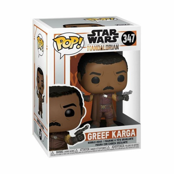 Star Wars: The Mandalorian - POP!-Vinyl Figur Greef Karga