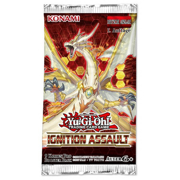 Yu-Gi-Oh! Trading Card Game: Ignition Assault 1st Edition Booster - Deutsch