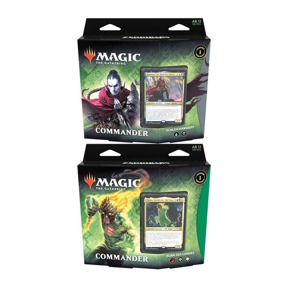 Magic the Gathering: Zendikars Erneuerung Commander Deck (zufällige Auswahl)