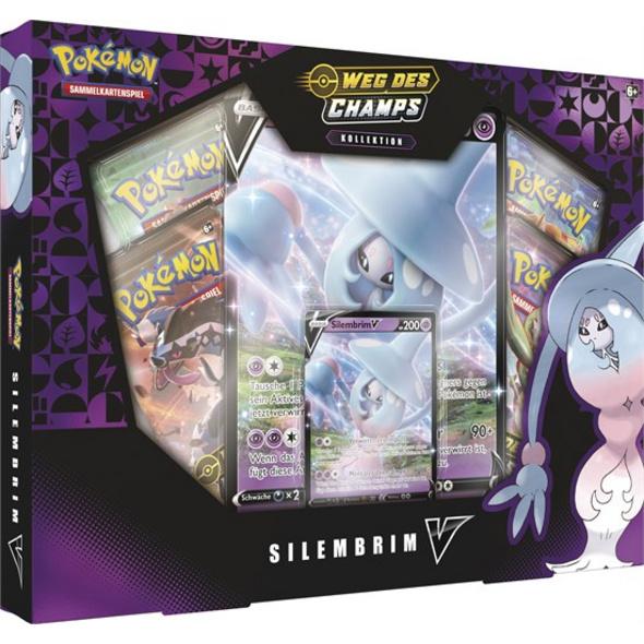Pokémon Sammelkartenspiel: Schwert & Schild 3.5 Weg des Champs - Silembrim-V Box