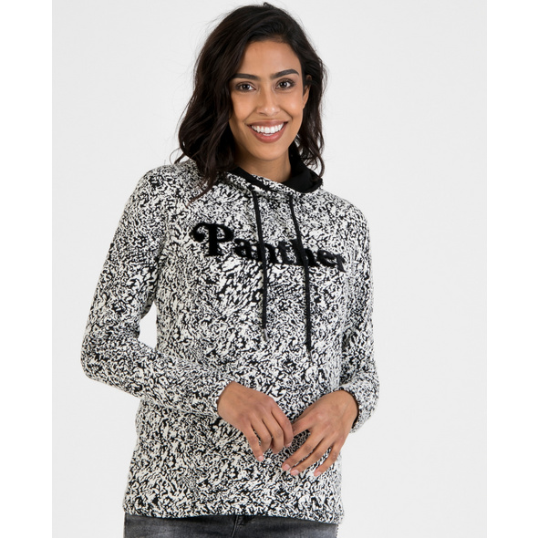 Sweatshirt mit Puschelschriftzug