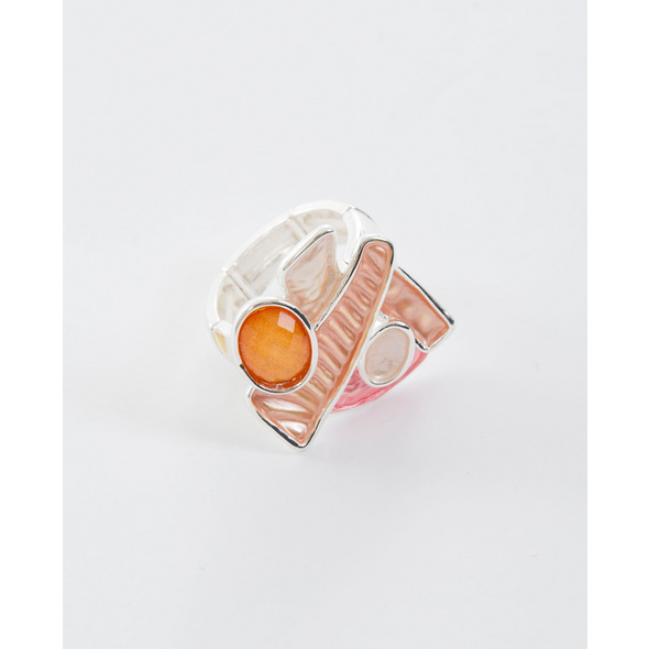 Elastischer Ring mit unterschiedlichen Elementen