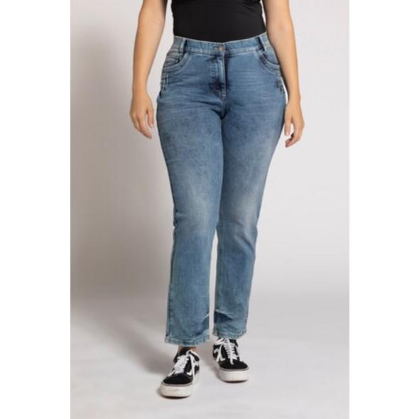 Jeans Sammy, Waschung, Steppfalten, konisches Bein