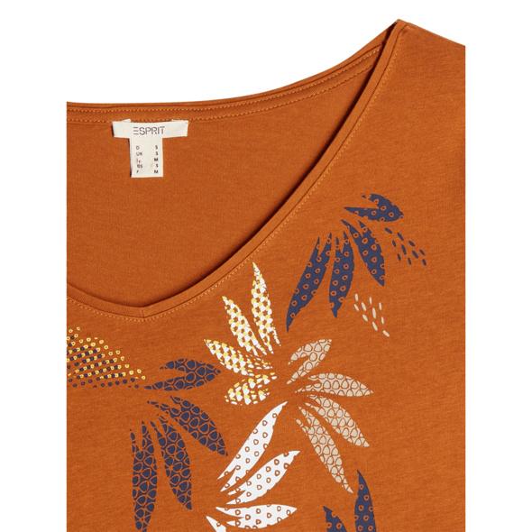T-Shirt aus Baumwoll-Modal-Mix