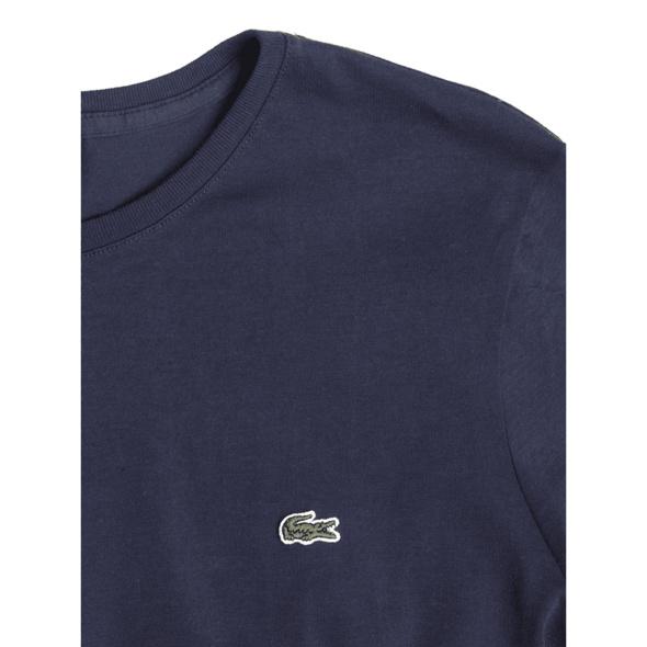 T-Shirt mit Logo-Badge