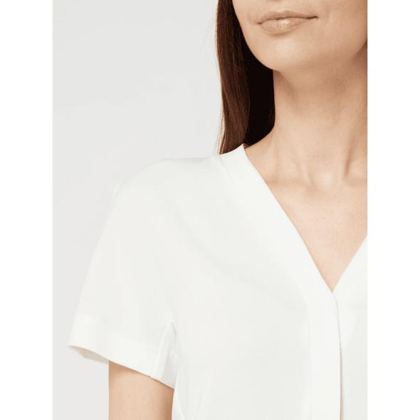 Blusenshirt mit Zierleisten im Double-Layer-Look