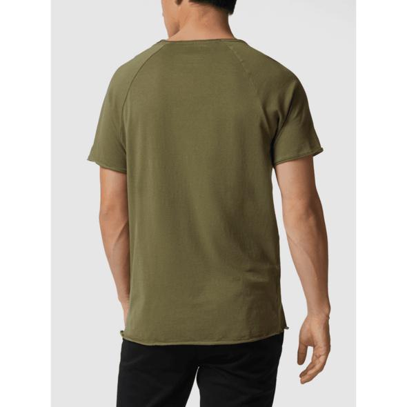 Longer Fit T-Shirt mit Raglanärmeln