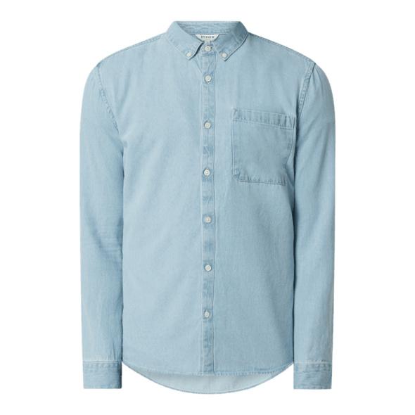 Regular Fit Jeanshemd aus Baumwolle