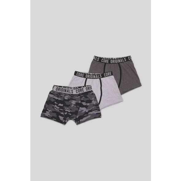 Boxershorts - Bio-Baumwolle - 3er Pack