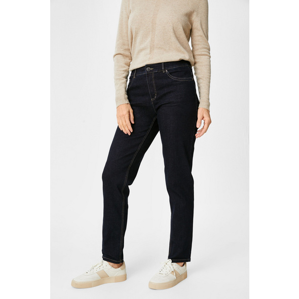 Straight Jeans Classic Fit - Bio-Baumwolle