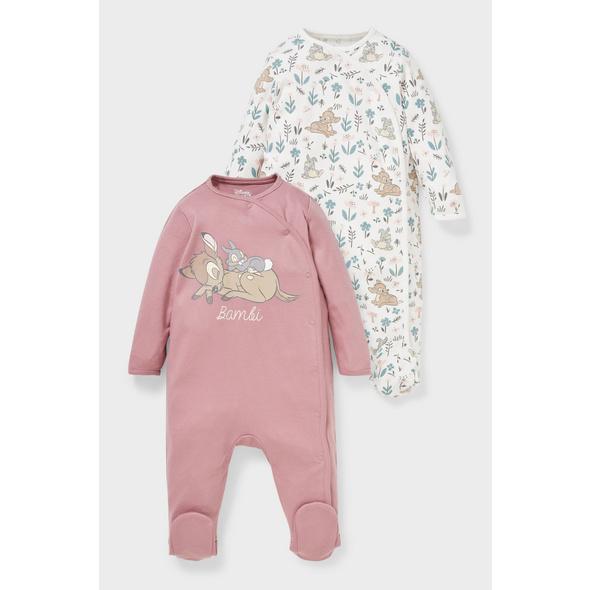 Multipack 2er - Disney - Baby-Schlafanzug - Bio-Baumwolle