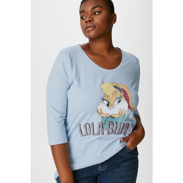 T-Shirt - Glanz-Effekt - Looney Tunes