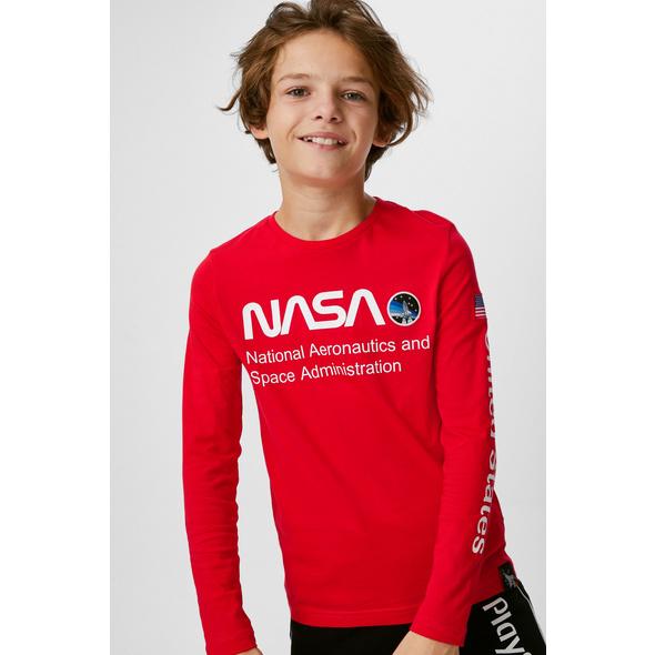 NASA - Langarmshirt - Bio-Baumwolle