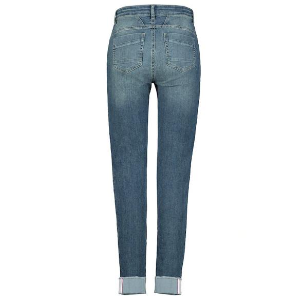 7/8-Jeans Julia, Ziernähte, Umschlagsaum, 5-Pocket