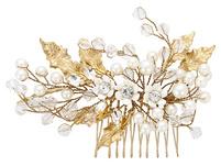 Haarnadel - Flowers & Pearls