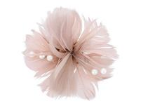 Haarclip - Vintage Feather
