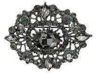 Brosche - Black Vintage