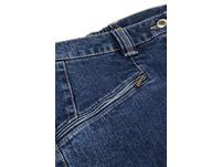 Jeans Mony, querelastisch, leicht schmal zulaufend