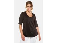Shirt, doppelter Stoff, Stretchkomfort, Viskose-Crêpe, selection