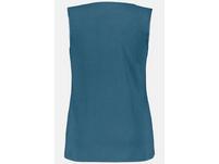 Unterhemd, Spitzen-V-Ausschnitt, breite Träger