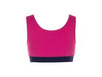 Bustiers, 2er-Pack, dunkelblau/pink