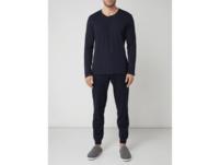 Serafino-Shirt aus Baumwolle